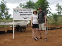 Bild från vårt besök på testplantagen i Kiambere 2008