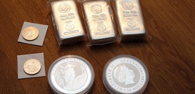 Guld och silver som en försäkring