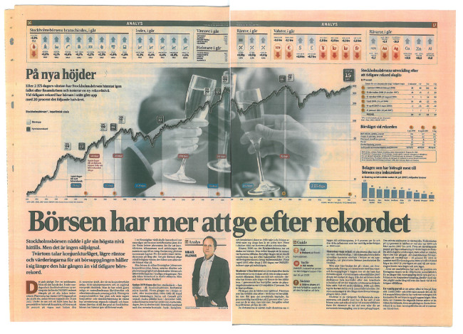 Dagens Industri, 17:e januari 2014