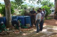 Här går man genom den mödosamma processen av att knäcka nötterna för att få fram de värdefulla Mukau-fröna.