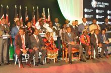 Ceremonin där priset delades ut gästades även av presidenten Uhuru Kenyatta.