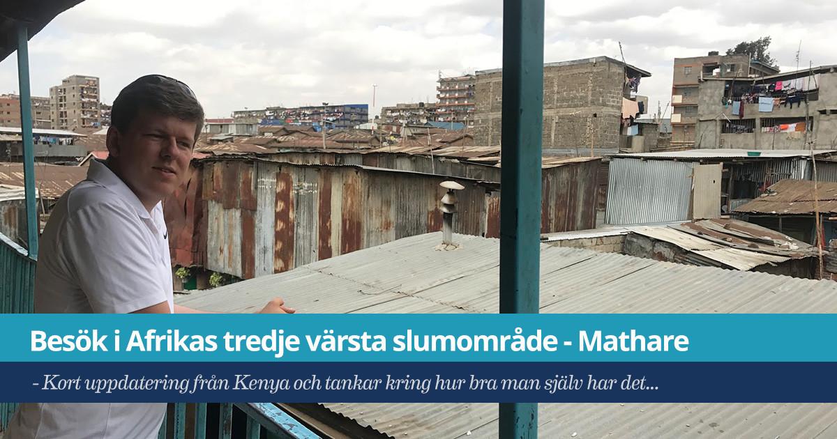 Besök i Afrikas tredje värsta slumområde – Mathare