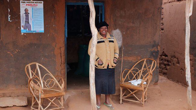 Från byn utanför Kiambere