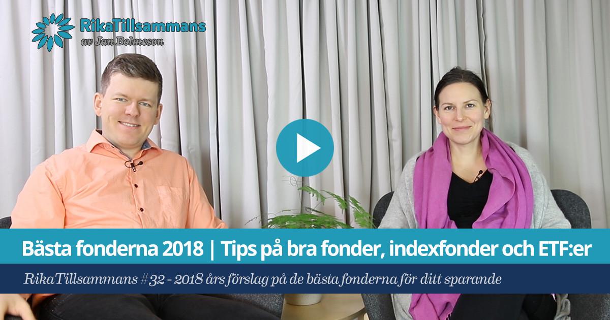 b4061a5d927 Bästa fonderna 2018 | Tips på bra fonder, indexfonder och ETF:er