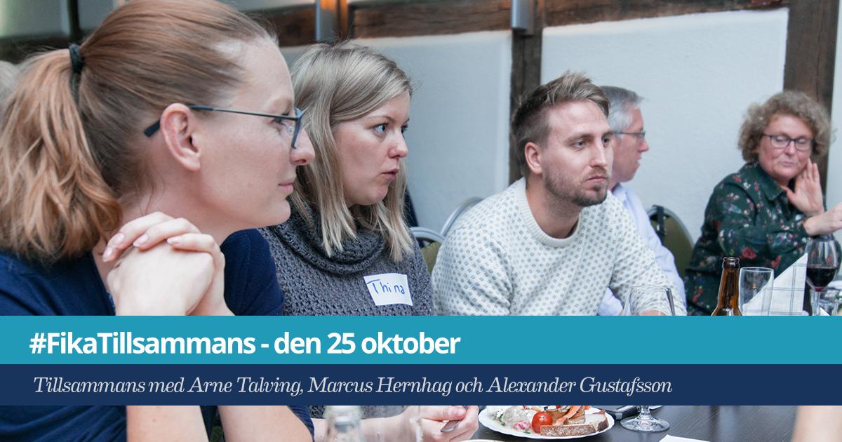 #FikaTillsammans i Malmö 25 okt