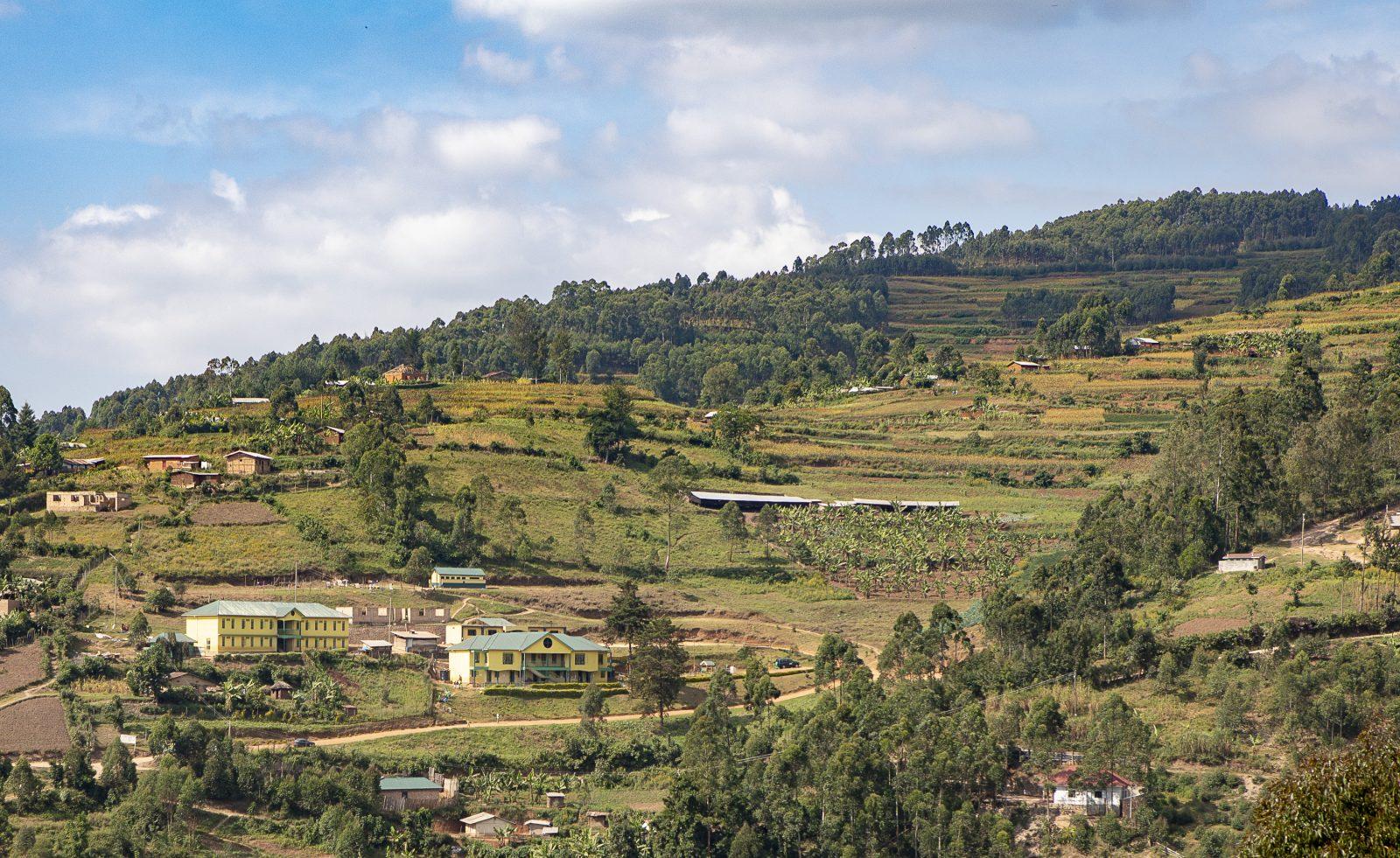 Kullen i Kabale, Uganda där Child Africa har byggt flera skolbyggnader tack vare finansieringen från Better Globes donationspaket